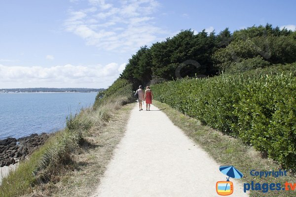 Trail of Kernous beach - Concarneau