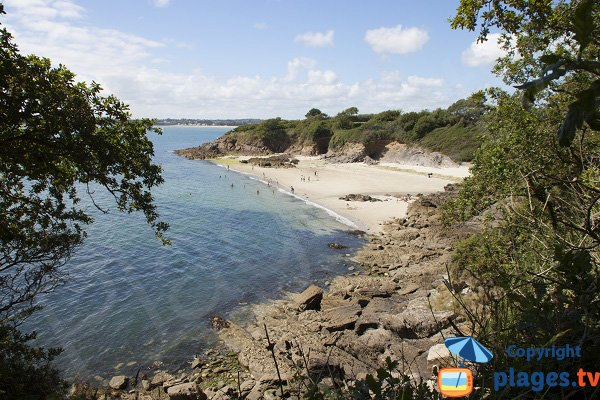 Photo of Kernous beach in Concarneau in France