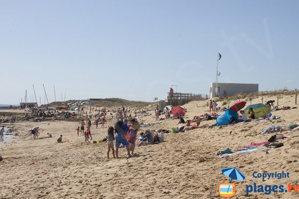 Kerourier beach in Erdeven - Brittany
