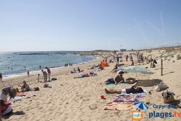 Photo of Kerouriec beach in Erdeven in France