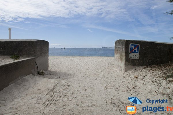 Access to Kerpape beach - Larmor-Plage