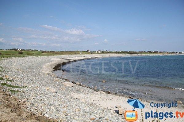 Photo de la plage de Kerrest à Plozevet - Bretagne
