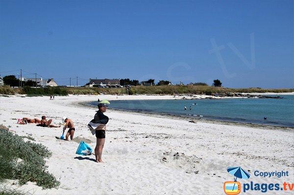 Photo de la plage de Kerurus à Plounéour-Trez