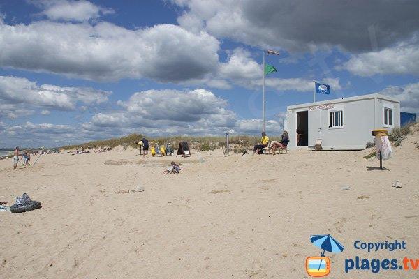 Poste de secours de la plage de Kervégant - Plouhinec
