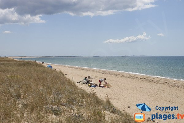 Photo de la plage de Kervégant à Plouhinec - 56