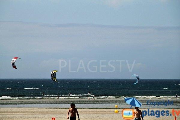 Kitesurf à Plonévez-Porzay - Finistère