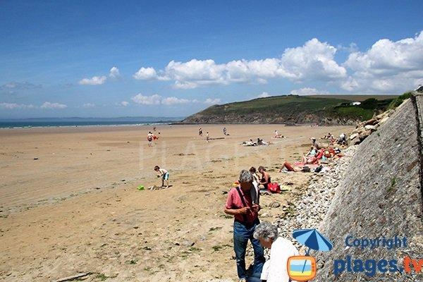 Photo de la plage de Kervel à Plonévez-Porzay - Bretagne