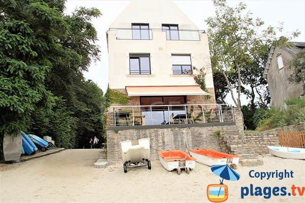Café restaurant de la plage de Kerveltrec à Fouesnant