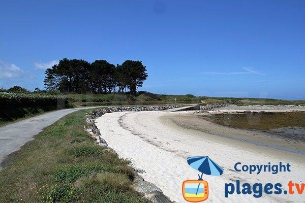 Photo de la plage de Kervenni à Plouguerneau - Bretagne