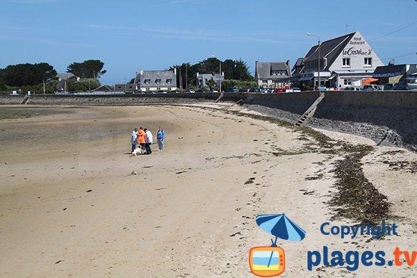 Kervenni et sa plage à Plouguerneau
