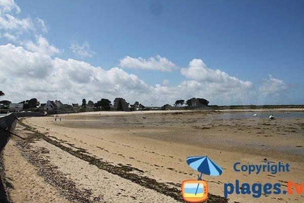 Plage de Kervenni à Plouguerneau - Bretagne
