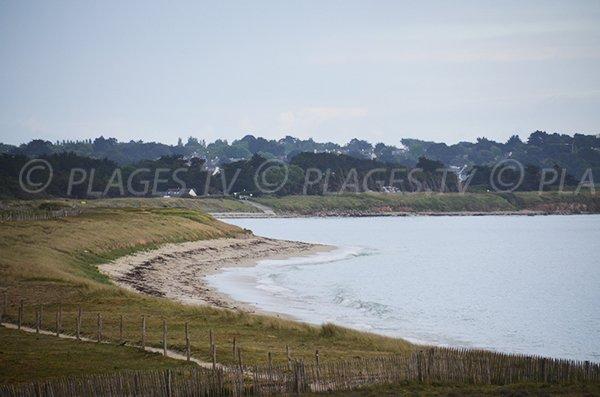 Photo de la plage de Kerver sur la commune d'Arzon