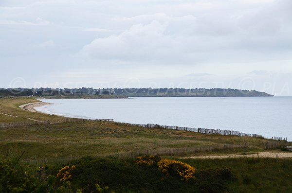 Photo de la plage de Kerver à St Gildas de Rhuys