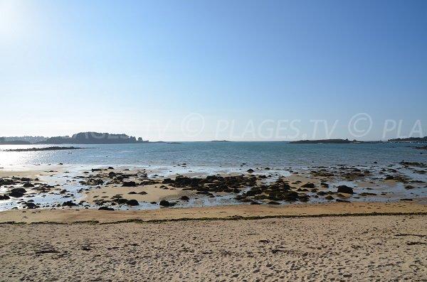 Baie de Keryvon depuis la plage