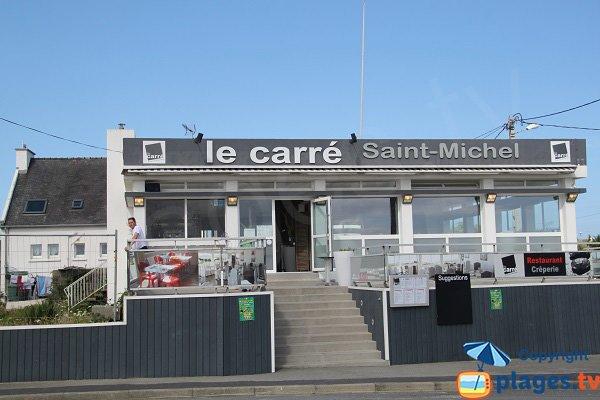 Restaurant à côté de la plage de Korejou - Plouguerneau