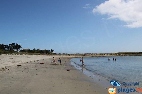 Photo de la plage du Korejou à Plouguerneau - Bretagne