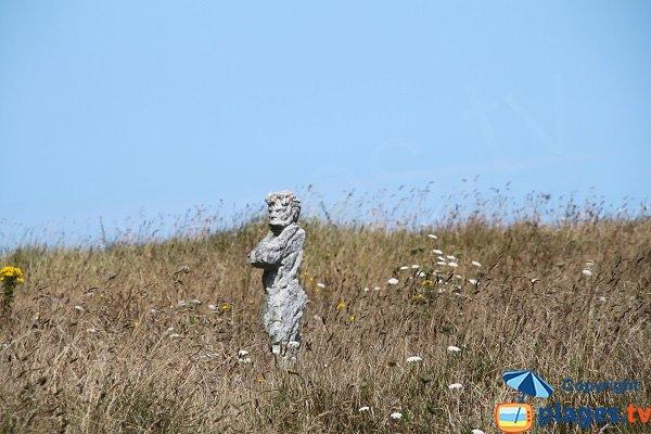 Statue à Plouguerneau