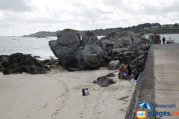 Rochers autour de Korejou Port - Plouguerneau