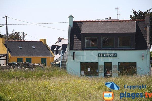 Bar de la plage de Korn ar Gazel - Saint Pabu