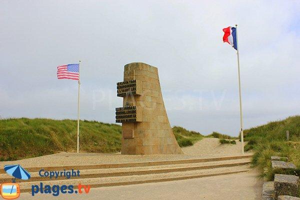 Mémorial du 6 juin 1944 pour le général Leclerc - St Martin de Varreville