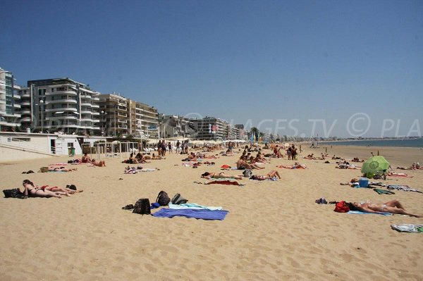 Photo of La Baule beach near Pornichet