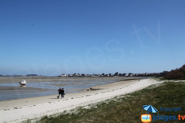 Photo of Laber beach in Roscoff