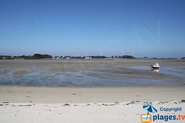 Perharidi peninsula from Laber beach