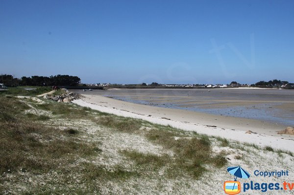 Bay of Laber in Roscoff in France