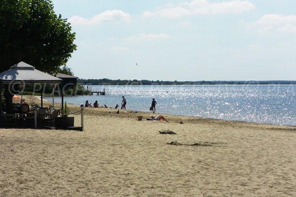 Lac de Cazaux en Gironde