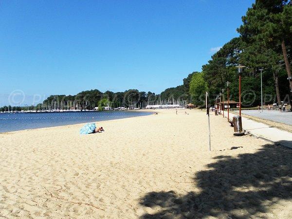 Photo de la plage du Lac Cazaux à La Teste