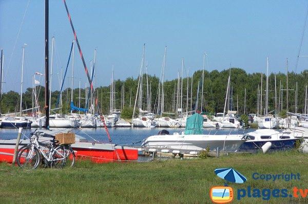 Port of Navarrosse - Lake of Biscarrosse