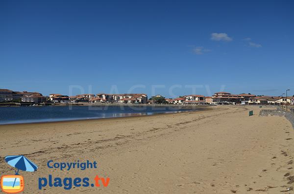 Photo du lac marin de Vieux Boucau