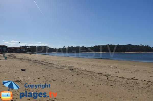 Photo de la plage du Lac de Vieux Boucau