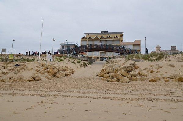 Maison des surfeurs à Lacanau