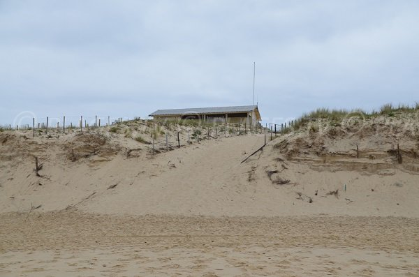 Accès nord de la plage de Lacanau