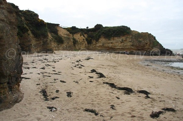 Beach of Landes de Pen Bé in Assérac in France