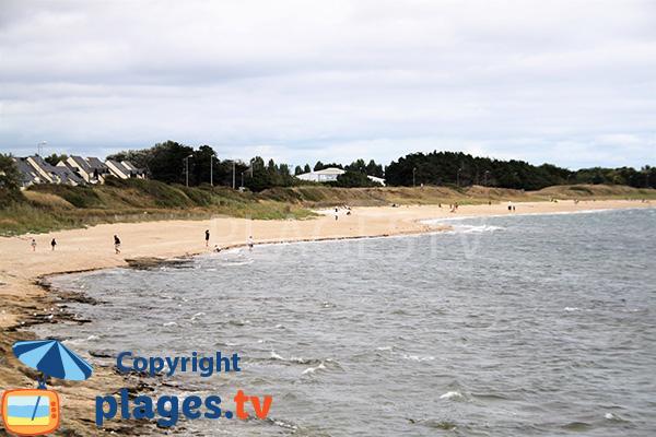 Grande plage de Kervoyal - Damgan