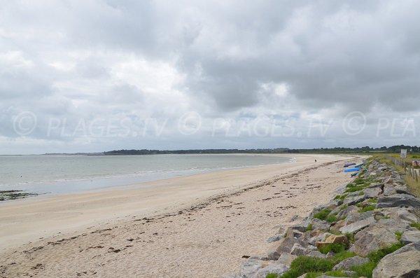 Photo de la plage de Landrezac à Sarzeau