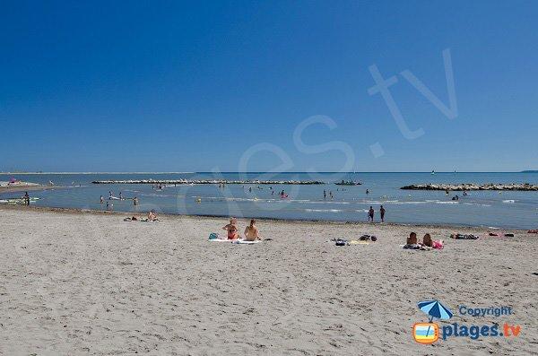 Nuoto sulla spiaggia a Landsberg