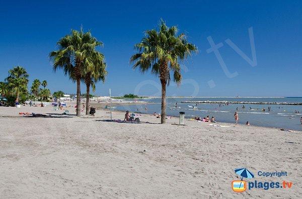 Photo of Landsberg beach in St Laurent du Var in France