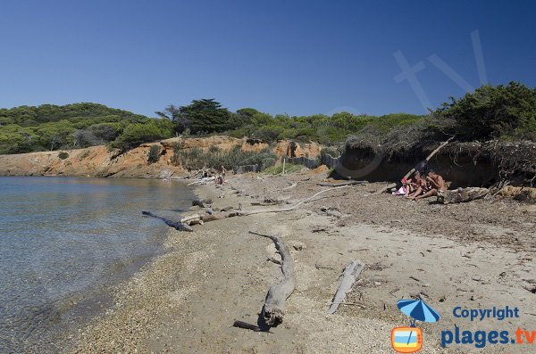 Beach of Langoustier in Porquerolles