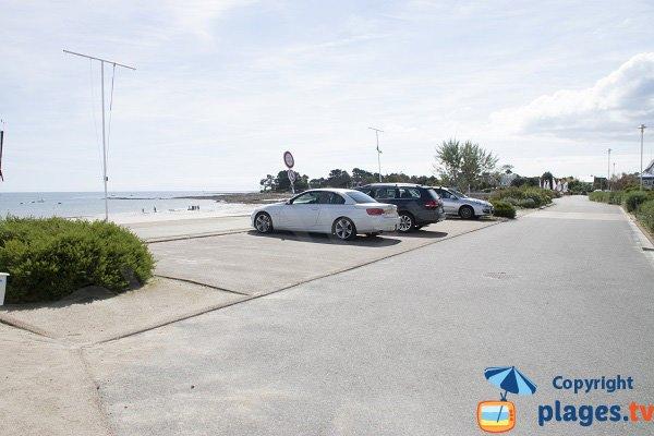 Environnement de la plage de Langoz à Loctudy - Bretagne