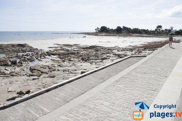 Photo de la plage de Langoz à Loctudy - Bretagne