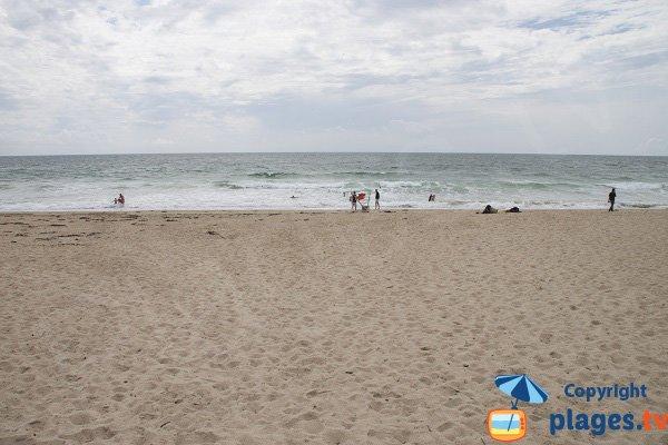Lanénec beach in Guidel