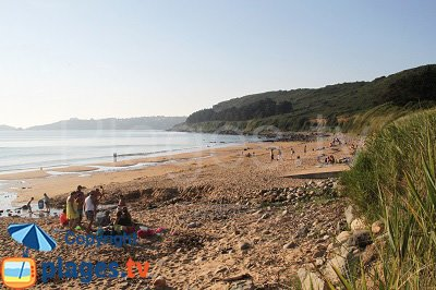Lannion beach - Brittany - France
