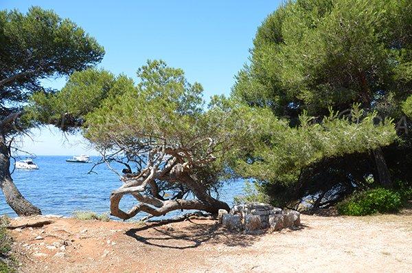 Landmark of Laoute beach