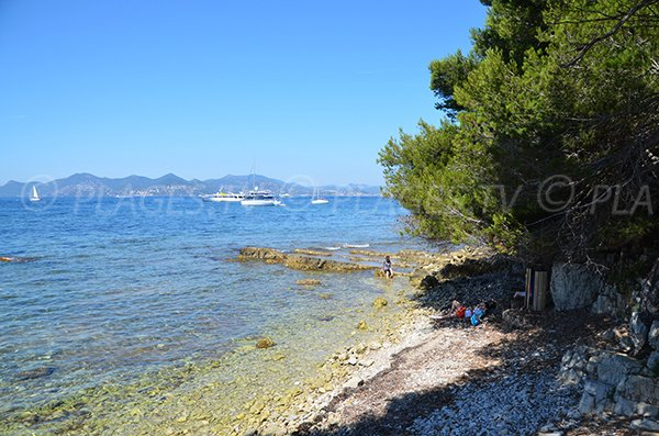 Photo of Laoute beach - Sainte Marguerite island