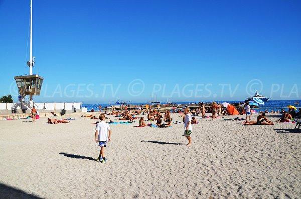 Lifeguards on the Monte Carlo beach