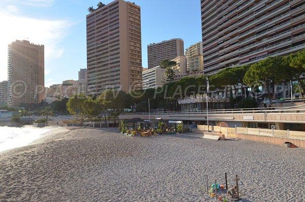 Plage de Monaco côté Ouest