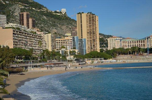 Plage de Larvotto à Monaco